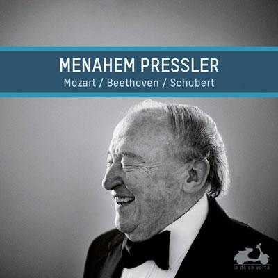 メナヘム・プレスラー/シューベルト: ピアノ・ソナタ第18番、モーツァルト: ロンド K.511、ベートーヴェン: バガテル Op.126[LDV12]