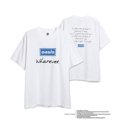 Whatever半袖T-shirt (White)/Lサイズ