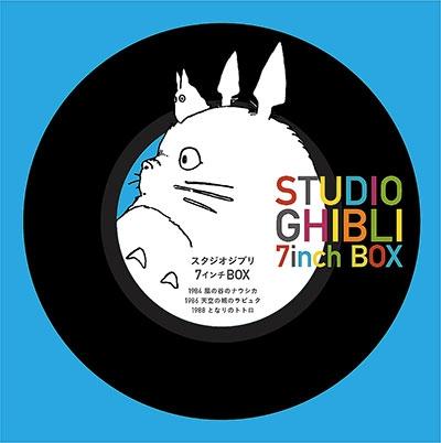 STUDIO GHIBLI 7inch BOX [7inch x5+オリジナル・アダプター]<限定盤> 7inch Single