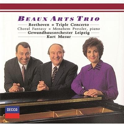 ベートーヴェン:三重協奏曲、合唱幻想曲<限定盤> UHQCD