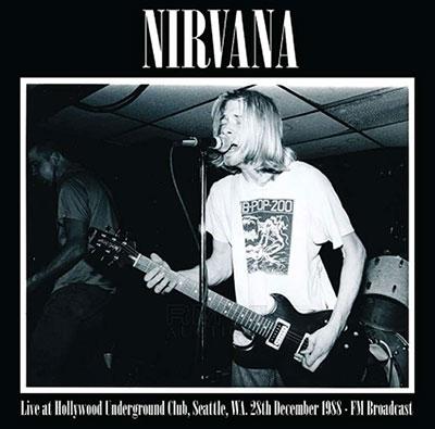 Live At Hollywood Underground Club, Seattle, WA. 28th December 1988<限定盤>