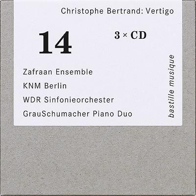 クリストフ・ベルトラン: 眩暈~器楽作品集