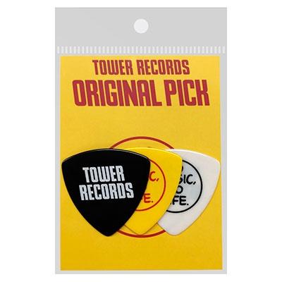 TOWER RECORDS オリジナルピック(3枚入り) MEDIUM 0.75mm[MD01-3121]