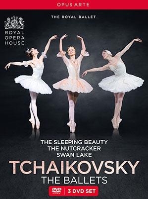 チャイコフスキー: 三大バレエ II 《白鳥の湖(オシポワ)/眠れる森の美女(ヌニェス)/くるみ割り人形(カス DVD