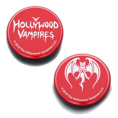 Hollywood Vampires/Hollywood Vampires Button Badges RED[WTM735]