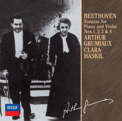 ベートーヴェン:ヴァイオリン・ソナタ第1-4番<限定盤>