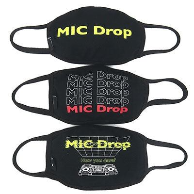 BTS MIC DROP マスク(3枚セット) Accessories