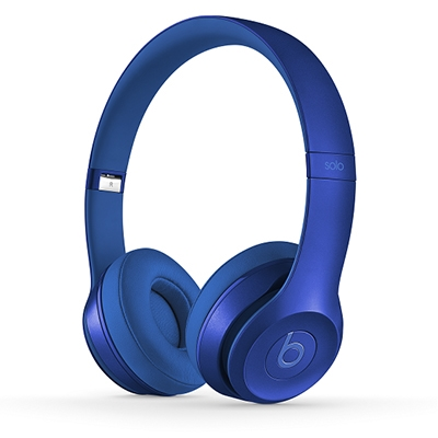 beats by dr.dre Solo2 オンイヤーヘッドフォン Sapphire Blue