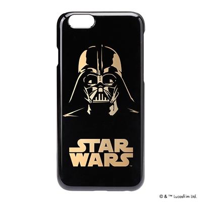STARWARS iPhone 6用 ハードケース 金箔押し ダースベイダー [PG-DCS921DV]