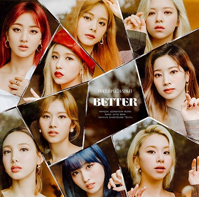 BETTER<通常盤/初回限定仕様> 12cmCD Single
