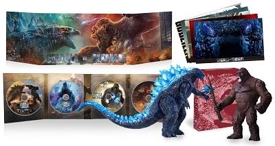 ゴジラvsコング [4K Ultra HD Blu-ray Disc+2Blu-ray Disc+DVD]<完全数量限定生産版>