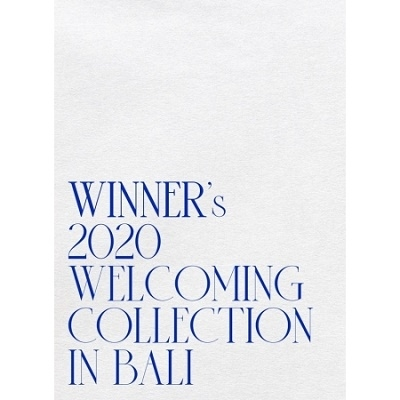 WINNER's 2020 Welcoming Collection in Bali DVD
