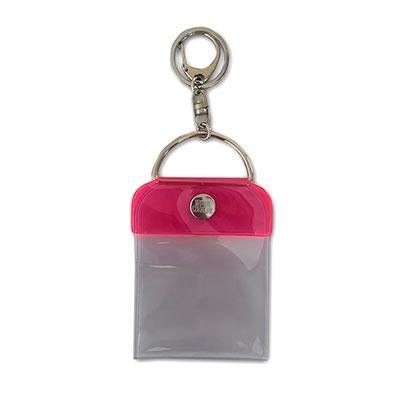 タワレコ 缶バッジキーホルダー57mm用 Pink[MD01-5817]