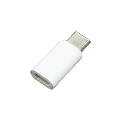 Type-C、microUSB対応変換コネクタ(USB2.0) 3A/ホワイト[BCCMC30WH]