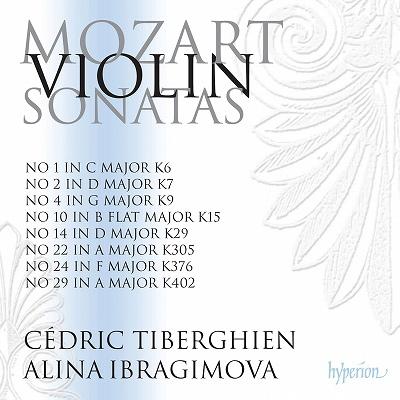 アリーナ・イブラギモヴァ/モーツァルト: ヴァイオリン・ソナタ全集 Vol.2 - 第1番, 第2番, 第4番, 第10番, 第14番, 第22番, 第24番, 第29番 [PCDA68092]