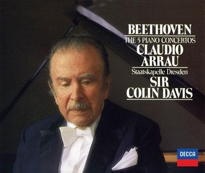 クラウディオ・アラウ/ベートーヴェン: ピアノ協奏曲全集, 他<タワーレコード限定>[PROC-1310]