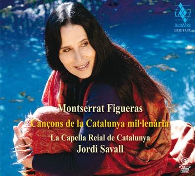 モンセラート・フィゲーラス/古きカタルーニャの歌〜哀歌と伝説曲[AVSA9881]