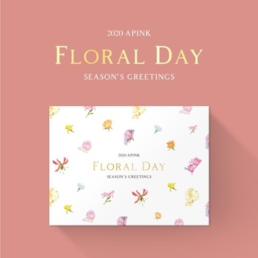 Apink 2020 SEASON'S GREETINGS [FLORAL DAY] [CALENDAR+GOODS] Book