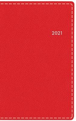 高橋書店 手帳は高橋 T'beau (ティーズビュー) 日曜始まり 4 [レッド] 手帳 2021年 手帳判 ウィークリー 皮革調 レッド No.331 (2021年版1月始まり)[9784471803315]