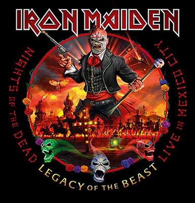 Nights Of The Dead, Legacy Of The Beast: Live In Mexico City (Deluxe) CD