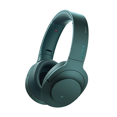 SONY ハイレゾ対応 ヘッドホン h.ear on Wireless NC MDR-100ABN ビリジアンブルー [MDR100ABNLM]