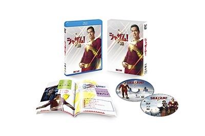 デヴィッド・F・サンドバーグ/シャザム! [3D Blu-ray Disc+Blu-ray Disc]<初回仕様版>[1000747355]