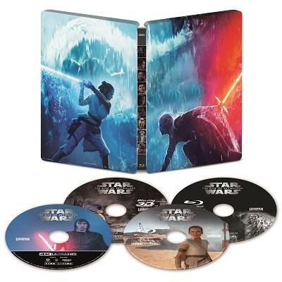 J.J.エイブラムス/スター・ウォーズ/スカイウォーカーの夜明け 4K UHD MovieNEX スチールブック [4K Ultra HD Blu-ray Disc+3D Blu-ray Disc+2Blu-ray Disc]<数量限定版>[VWES-6998]