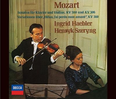 ヘンリク・シェリング/モーツァルト: ヴァイオリンソナタ集 [PROC-1994]