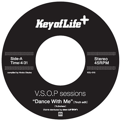 V.S.O.P sessions/Dance With Me(7inch Edit)/Dragon Child<完全限定プレス盤>[KOL-15]