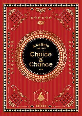 "【DVD】&6allein 2nd LIVE「Choice""&""Chance」"