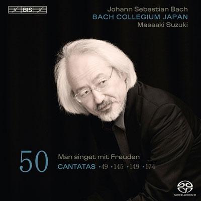 鈴木雅明/J.S.Bach: Cantatas Vol.50 - BWV.149, BWV.145, BWV.174, BWV.49[BISSA1941]