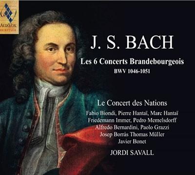 J.S.バッハ: ブランデンブルク協奏曲(全曲)