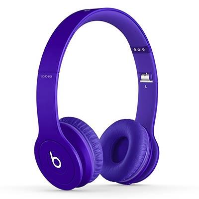 beats by dr.dre Solo HD オンイヤー・ヘッドフォン Matte Purple