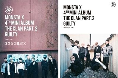 MONSTA X/The Clan 2.5 Part. 2 Guilty: 4th Mini Album (ランダムバージョン)[L100005252]