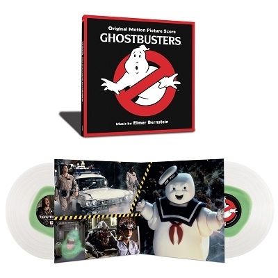Ghostbusters<Clear Vinyl/完全生産限定盤> LP