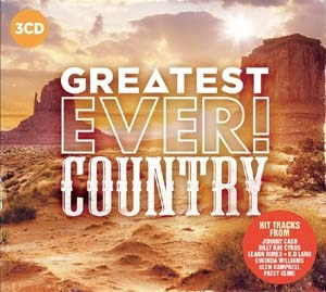 Greatest Ever: Country CD
