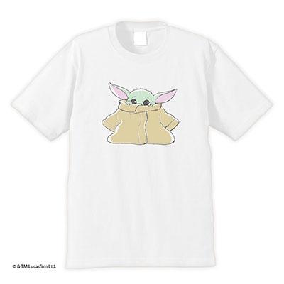 スター・ウォーズ The Mandalorian The child T-shirts 1 ホワイト XL タワーレコード限定 Apparel