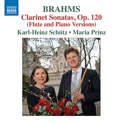 ブラームス: クラリネット・ソナタ集 - フルートとピアノ編