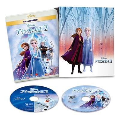アナと雪の女王2 MovieNEX コンプリート・ケース付き [Blu-ray Disc+DVD]<数量限定版> Blu-ray Disc