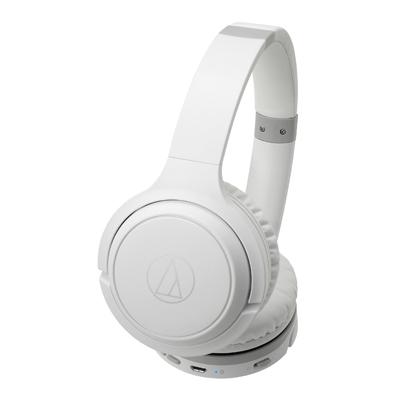 audio-technica ワイヤレスヘッドホン ATH-S200BT ホワイト[ATH-S200BTWH]