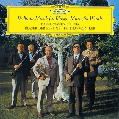 ベルリン・フィルハーモニー管楽アンサンブル/管楽器のための室内楽曲集 (ダンツィ, C.シュターミッツ, ライヒャ: 同, 他)<タワーレコード限定>[PROC-1293]