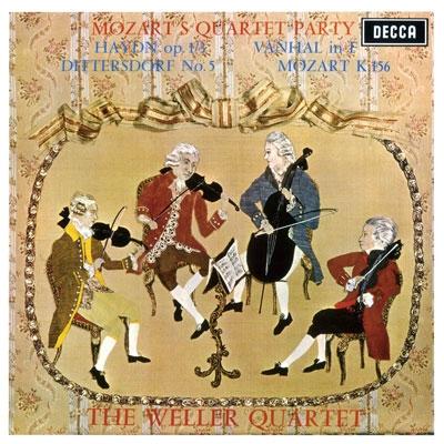 ヴェラー弦楽四重奏団/モーツァルトのカルテット・パーティ<タワーレコード限定>[PROC-1401]