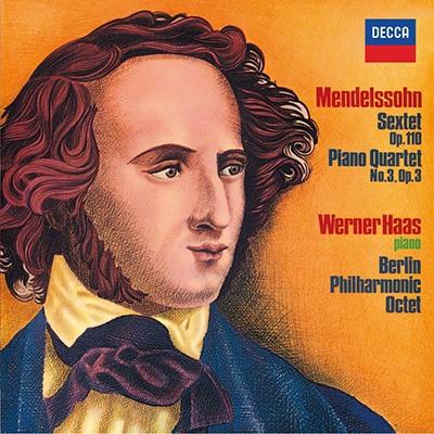 ウェルナー・ハース/メンデルスゾーン: 六重奏曲, ピアノ四重奏曲第3番, 他<タワーレコード限定>[PROC-1466]