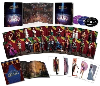 グレイテスト・ショーマン 日本限定コレクターズBOX [4K Ultra HD Blu-ray Disc+2Blu-ray Disc]<数量限定生産版>