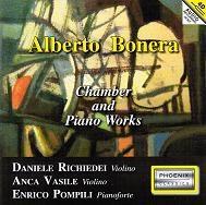 ダニエーレ・リキエデイ/A.Bonera: Chamber & Piano Works [PH23171]