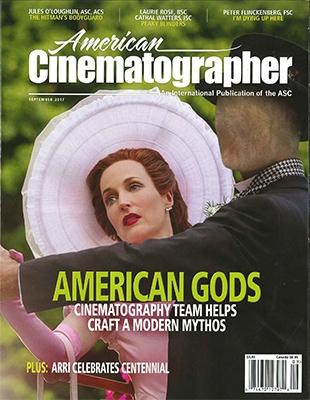 AMERICAN CINEMATOGRAPHER 2017年9月号 [12797]