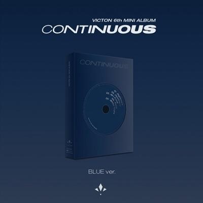 Continuous: 6th Mini Album (BLUE Ver.) CD