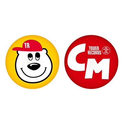 チャットモンチー/チャットモンチー × TOWER RECORDS 缶バッジ2個セット[MD01-4186]