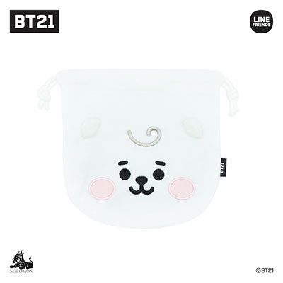 BT21 フェイスタイプポーチ/RJ(BABY) Accessories