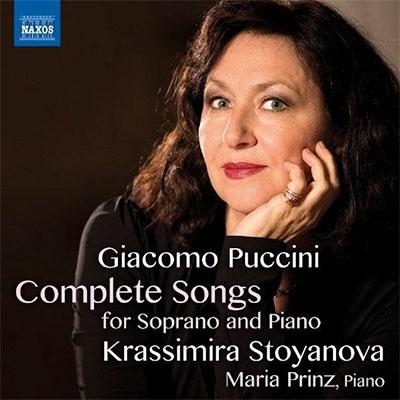 クラッシミーラ・ストヤノヴァ/Puccini: Complete Songs for Soprano and Piano[8573501]